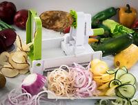 Spiral Fruit & Vegetable Slicer Cutter 5-blade Multi functional Vegetable Cutter