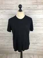 HUGO BOSS T-Shirt - Size Medium - Black - Regular Fit - Great Condition - Men's