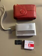 Sony Cyber-shot DSC-T20 8.1MP Digital Point Shoot Camera - Silver Working VGC (K