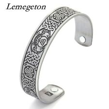 Pattern  Magnetic Health Therapy High Power Wristband Bracelets Bangles