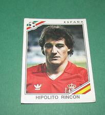 N°272 RINCON ESPAÑA ESPAGNE PANINI FOOTBALL COUPE MONDE 1986 MEXICO WM 86