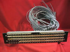 "Pro Audio 1/4"" Patch Panel 24x4 Trs Rack Mount"