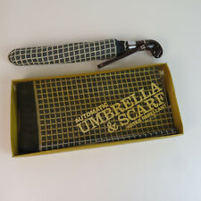 Vintage Automatic Umbrella & Scarf Nylon Set - Nos 60's 70's?