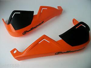 Polisport Hand Brush Guards Orange Enduro Motocross Ktm Exc Sx Xcf Sxf Excf Sxc