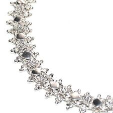 Bracelet ethnique argent massif 925 belle maille finement travaillée 20cm bijou