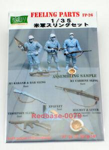 Kamizukuri 1/35 feeling parts US Military Model Sling Set FP-26 Japan