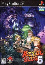 Used PS2 Metal Slug 6   Japan Import (Free Shipping)