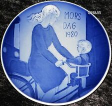 1980 Royal Copenhagen madre tag piatto Mother's day top 1. scelta Bing Grondahl