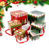 UK Christmas Eve Gift Box Xmas Present Party Unique Gifts Boxes With Three Size