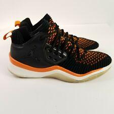 Nike Air Jordans DNA LX  AO2649-007 Black / Orange Sneakers Men's Sz 8.5 EUC