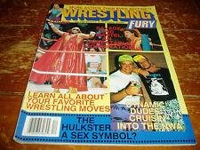 Wrestling Fury Magazine December 1989 Issue  WWF / WWE