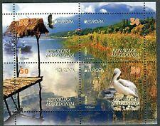 212 - MACEDONIA 2016 - Europa  - Birds - Stork - MNH Booklet
