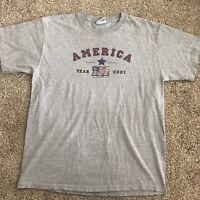 Vintage 2001 Sonoma America Shirt Size L Men's September 11th Shirt