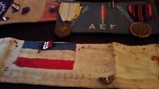 French resistance medals badges armbands WWII Paris Section FFI WWII