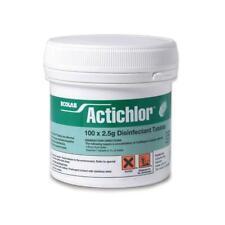 More details for ecolab actichlor chlorine disinfectant tablets, 2.5g x 100