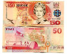 FIJI 50 DOLLARS ND(2002) P-108 UNC