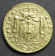 Peso Monetale - Savoia - 20 Lire Italiane g.6,48