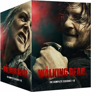 "THE WALKING DEAD COMPLETE SEASON 1-10 DELUXE DVD BOX SET 51 DISCS ""NEW&SEALED"""
