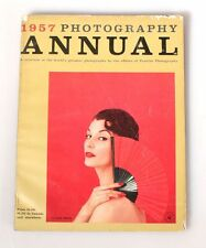 1957 EDITION PHOTOGRAPHY ANNUAL MAGAZINE BY THE EDITORS OF POPULAR PHOTOGRAPHY