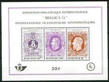 "BELGIUM - BELGIO - BF - 1970 - ""Belgica '72"" Esposizione filatelica internazion."