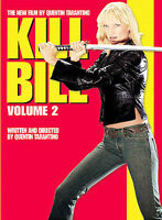 NEW Kill Bill Volume 2 DVD 2004 Widescreen Tarantino David Carradine Uma Thurman