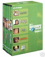 NEW 5 DVD SET: BEST OF DISCOVERY CHANNEL Volume 3,SEALED,Dirty Jobs,Wild Kingdom