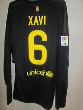Barcelona 2011-2012 Xavi 6 Away Camiseta de fútbol de manga larga BNWT Mans Grande/Envío y gestión