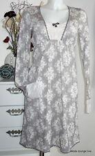 Vive Maria Chemise de nuit S 36 Vous rêvez Angel beige gris crème