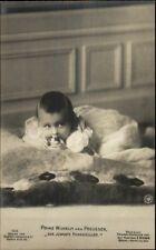 Baby Prince Wilhelm of Prussia Preussen c1910 Real Photo Postcard