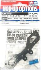 Tamiya 54581 1/10 RC XV-01 Front Carbon Long Damper Stay Shock Tower Parts