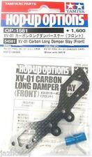 Tamiya 54581 Carbon Long Damper Stay Xv01 Front
