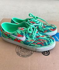 Nike SB Zoom Stefan Janoski Lucid Green & Light Crimson Shoes Size 5y Boys