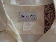 Men  BISHOP ST.  apparel Hawaiian Shirt  XXL retro 1950s style hipster  mens