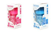 NEW! TWISTSHAKE Baby Anti-Colic ALL IN ONE Feeding Bottle 6 oz. PINK or BLUE