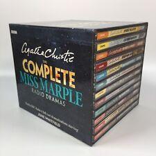Agatha Christie The Complete Miss Marple BBC Radio June Whitfield 24x CD Box Set
