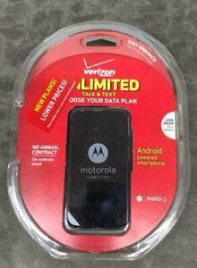 Motorola G Android Powered Smartphone Prepaid Verizon Black