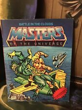 He-Man Masters Of The Universe Vintage MOTU Battle In The Clouds Mini Comic!