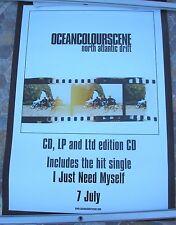 OCEAN COLOUR SCENE North Atlantic Drift 2003 promo poster 28 x 20  original
