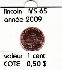 e2 )pieces de 1 cent  2009  P  lincoln ( presidency )