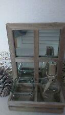 Rechteckige Markenlose Deko-Spiegel im Landhaus-Stil aus Holz