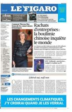 Le Figaro 27.10.2016 N°22460*Primaires SARKO/Juppé*Theresa MAY*Boulimie CHINOISE