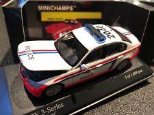 MINICHAMPS 431 024190 BMW 3-SERIES 2005 POLICE LUXEMBURG POLIZEI 1/43 NEW BOXED
