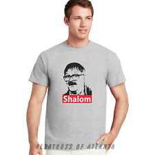 Shalom Jackie Jim Friday Night Dinner Funny Parody TV Show Retro T- Shirt Tops..