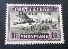 nystamps Albania Stamp # C19 Mint OG H $55