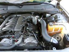 All BLACK COATED 2PC Cold Air Intake Kit For 05-10 Chrysler 300 Touring3.5 V6