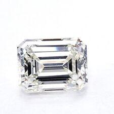 1.21 CT Natural Loose Diamond Emerald Cut J Color VS2 Clarity GIA Certified
