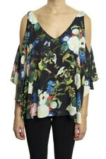Joseph Ribkoff Cold-Shoulder Floral Top size 8. Excellent pre-owned condition!