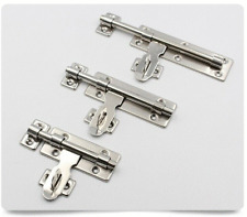 Quality Shinny Stainless Steel Latch Home Security Door Hardware Guard Bolt Lock