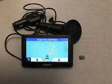 "Garmin nuvi 52LM 5"" GPS w/ Lifetime Maps With 16G Memory Card Mint"