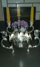 Vintage silver plated centerpiece/candle holder International Silver Co